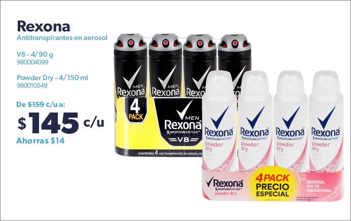 Antitranspirantes en aerosol