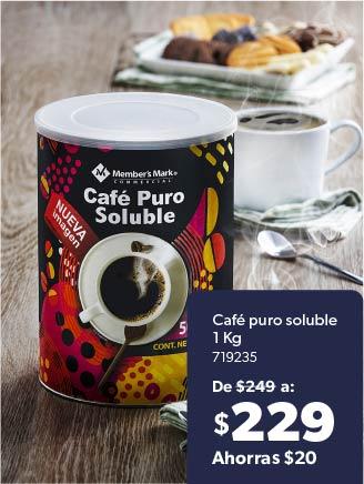Café puro soluble