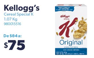 Cereal Special K