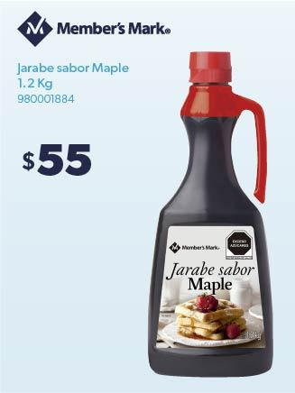 Jarabe sabor Maple