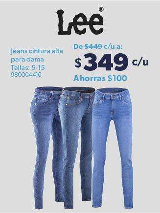 Jeans cintura alta