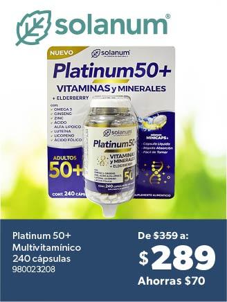 Platinum 50+