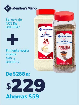 Sal con ajo+Pimienta
