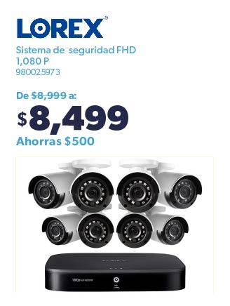Sistema de seguridad FHD