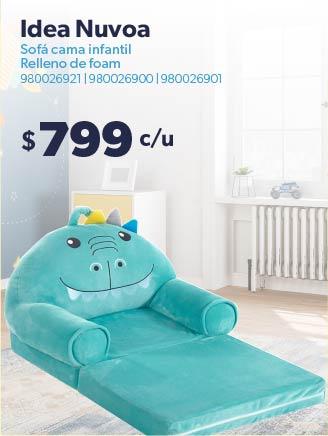Sofá cama infantil