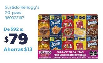 Surtido Kellogg's