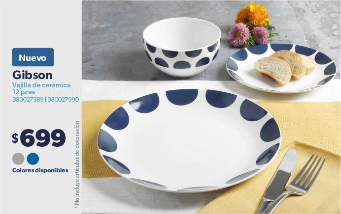 Vajilla de cerámica